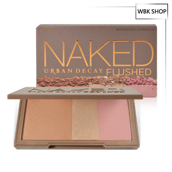 Urban Decay 腮紅三色修容盤 14g #Strip Naked Flushed - WBK SHOP