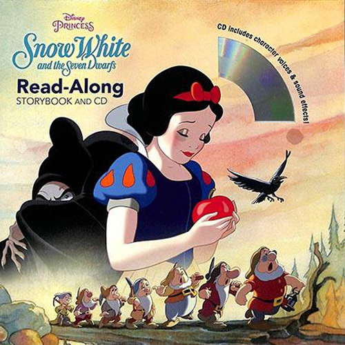 Snow White And The Seven Dwarfs Read-Along Storybook And CD 白雪公主 有聲讀本 (一平裝繪本+一CD)