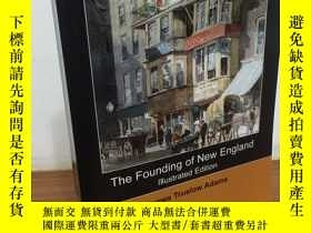 二手書博民逛書店The罕見Founding of New England - 新