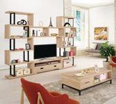 【新北大】B818-1 艾爾莎9.2尺組合電視櫃 -2019購