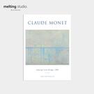 裝飾畫 藝術 掛畫 【G0124】Claude Mone 藝術裝飾畫-查令十字橋(A3) 韓國製 收納專科