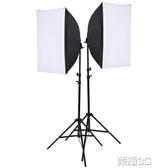 攝影棚 CY/春影 LED攝影棚柔光箱套裝手機拍攝補光燈攝影燈小型拍照道具
