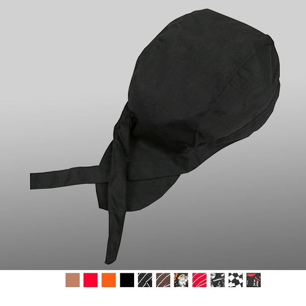 晶輝專業團體制服CH133*酒夏季西餐廳服務員工作帽酒店廚師帽子男女咖啡包頭帽飄帶帽頭巾帽