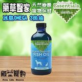 【殿堂寵物】藥草醫家 天然療癒寵物保健 冰島OMEGA 3魚油- 240ML
