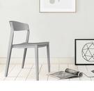 【歐雅系統家具】卡里納北歐餐椅-灰 / 北歐風 / 單椅 / 多色 / 防水 / 好收納 / 圓角安全設計