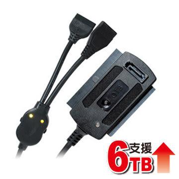 [富廉網] 伽利略 Digifusion UTSIO-01 光速線 旗艦版 USB2.0 to SATA+IDE