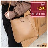 子母包-皮革車線多背法手提包中包-共4色-A17172556-天藍小舖