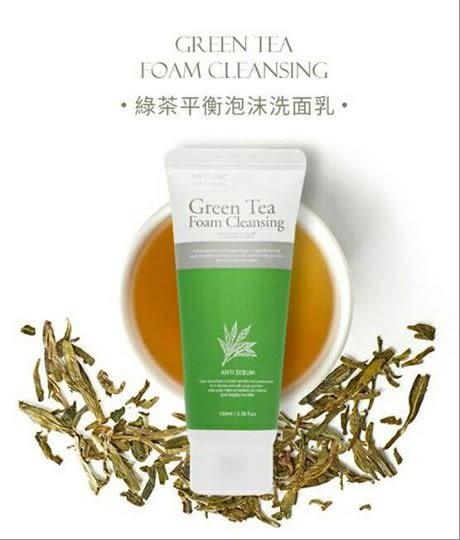韓國 3W Clinic 濟州島綠茶平衡泡沫洗面乳 100ML