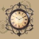 復古鐘錶掛鐘客廳超大號靜音創意時鐘BLN...