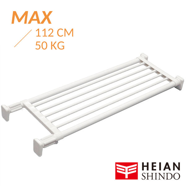 平安伸銅 [層架款] 獨立腳伸縮桿層架 TAI-20 (最長 112cm / 最重 50kg) 鈴木太太