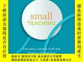 二手書博民逛書店Small罕見Teaching: Everyday Lessons from the Science of Lea
