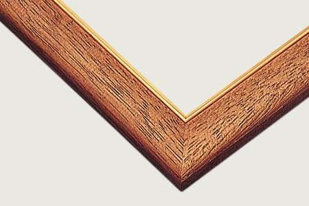 【拼圖總動員 PUZZLE STORY】日本進口1000P專用方框(淺咖啡色金線) BEVERLY/木框/49*72cm