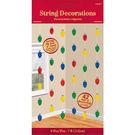 聖誕 裝飾 佈置 裝飾串門簾6入-聖誕燈