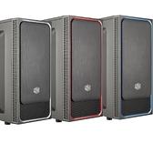 【免運費】CoolerMaster 酷碼 MasterBox E500L 滑蓋式 電競機殼 / ATX / USB 3.0 (三色)