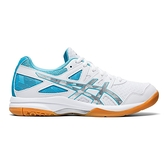 Asics Gel-task 2 [1072A038-102] 女鞋 運動 排球 支撐 靈活 透氣 緩衝 亞瑟士 白 藍
