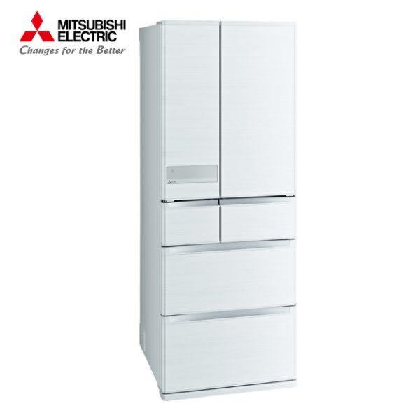 [MITSUBISHI 三菱]605公升 日本原裝六門變頻冰箱-絹絲白 MR-JX61C-W-C【門市展示新品 限定台南以南】