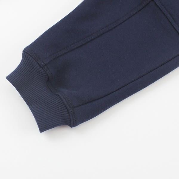 【愛的世界】鬆緊帶磨毛束口長褲/3歲-台灣製- ★秋冬下著