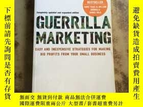 二手書博民逛書店Guerrilla罕見Marketing, 4th editio