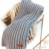 黛青 螺旋紋手工diy編織女自織圍巾線材料包送男友牛奶棉粗毛線團