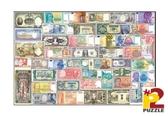【P2 拼圖】世界各國鈔票 (1000片) HP01000-120