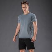 運動套裝男士短袖休閒速干運動衣