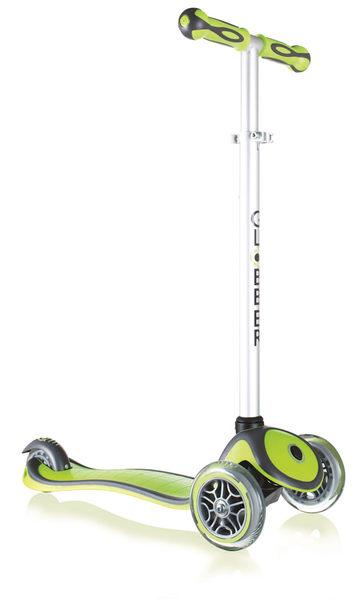 【促銷】法國 Globber 哥輪步 兒童2合1三輪滑板車/三輪車(綠色)