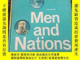 二手書博民逛書店men罕見and nations a world history