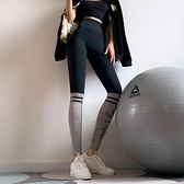 健身女孩韓版提臀緊身高腰瑜伽褲彈力外穿網紅速干跑步運動長褲薄 聖誕節全館免運