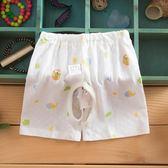 新款寶寶開襠短褲男女童開檔褲兒童褲子夏季超薄0-3歲三角衣櫥