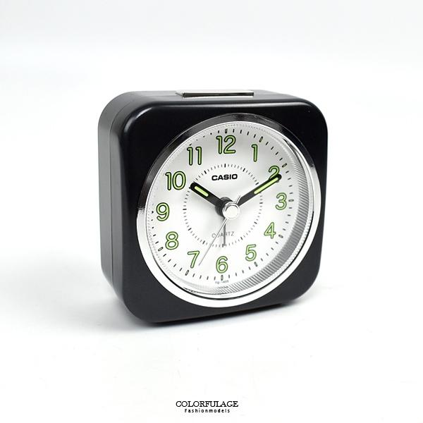 鬧鐘CASIO方形黑色指針NVCB11