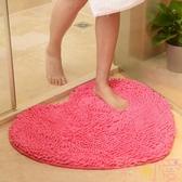 吸水防滑墊門墊浴室衛生間結婚慶地毯地墊【聚可愛】