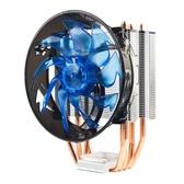 冰暴 amd intel電腦台式機775cpu散熱器銅管1155cpu風扇靜音1150【免運】