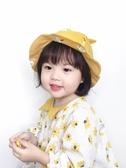 兒童漁夫帽女孩男童遮陽帽寶寶帽子春夏休閒2-4歲公主防曬帽子潮