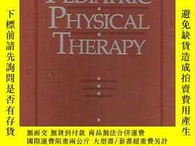 二手書博民逛書店Pediatric罕見Physical Therapy-兒童疾病物理治療Y361738 Jan Stephen