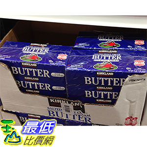 [COSCO代購] 需低溫配送無法超取 KIRKLAND SIGNATURE SALTED BUTTER 含鹽奶油453X4 _CA741114