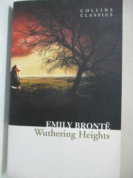 【書寶二手書T1/原文小說_A1J】Wuthering Heights_Emily Bronte