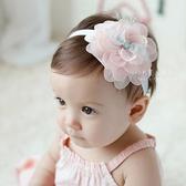 甜美蕾絲花朵兒童髮帶 髮飾 髮圈