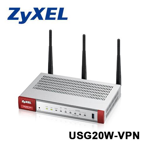 【支援Wifi】 Zyxel 合勤 USG20W-VPN WIfi 防火牆