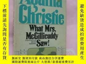 二手書博民逛書店What罕見Mrs. McGillicuddy saw! (AG