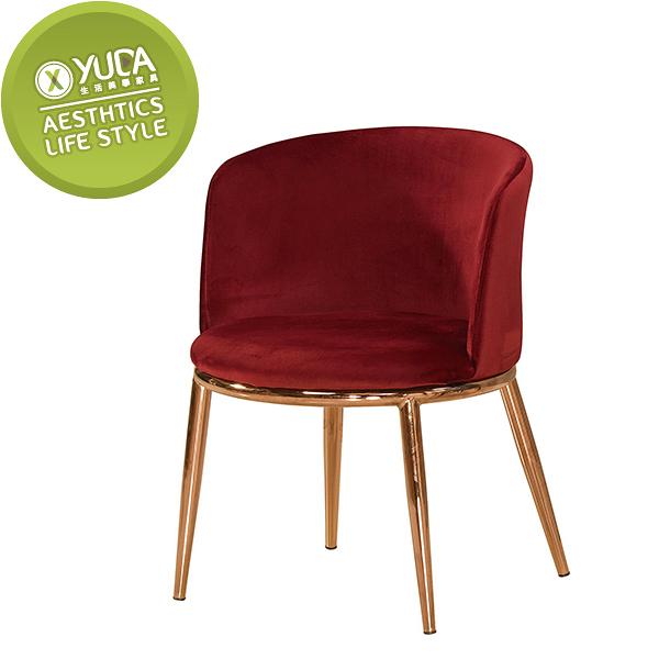 【YUDA】羅蘭餐椅  造型椅   /休閒椅 J0M 530-6