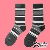 PolarStar 中性 排汗登山健行襪『黑』P20617 露營.登山.排汗襪.彈性襪.紳士襪.休閒襪.襪子.男版.女版