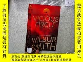二手書博民逛書店WILBUR罕見SMITH VICIOUS CIRCLE 威爾伯
