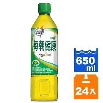 每朝健康綠茶650ml(24入)/箱【康鄰超市】