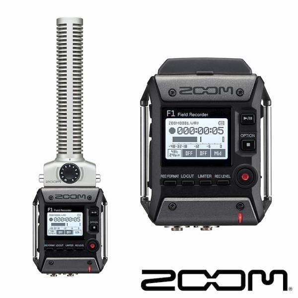 【南紡購物中心】Zoom F1-SP 指向性麥克風 錄音機
