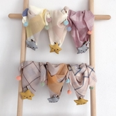 寶寶圍巾秋冬保暖兒童三角巾可愛冬季男童女童春秋薄款潮兒童圍脖