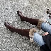 雪地靴女加絨加厚二棉鞋冬季膝上靴2020新款高筒靴子東北長筒靴 夢幻小鎮