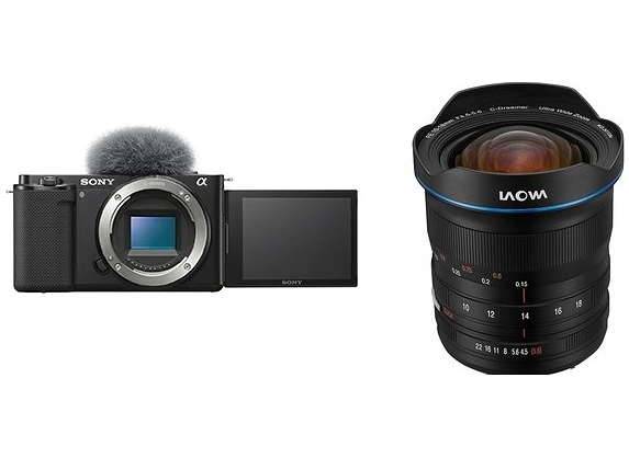 【震博】Sony ZV-E10單機身+LAOWA老蛙10-18mmF4.5-5.6超廣角變焦鏡(台灣索尼公司貨)~振興五倍券 5倍券~