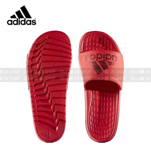(特價) ADIDAS 愛迪達 運動拖鞋S80407 紅黑 Voloomix 【代購】