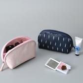 化妝包 旅行便攜式大容量手拿收納袋韓國簡約小號防水 - 雙十二交換禮物
