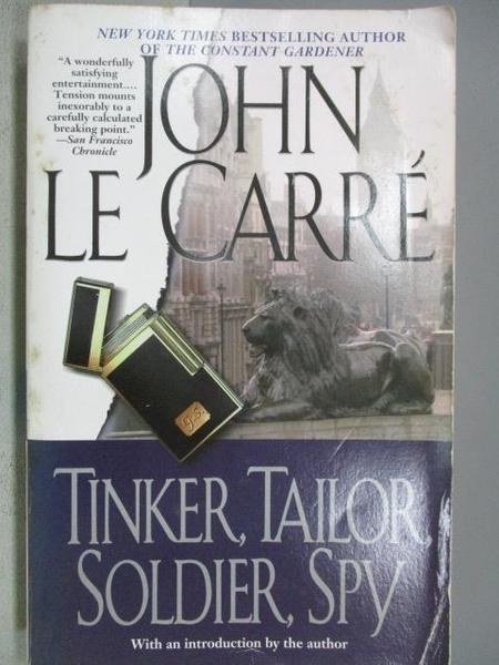 【書寶二手書T7/原文小說_MNP】Tinker, Tailor, Soldier, Spy_John Le Carre
